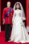 William And Catherine Royal Wedding® Giftset | Foto:Barbie Collector