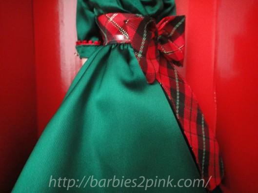 A fita no vestido | Foto: Caori