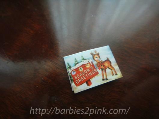 Cartão de Natal | Foto: Caori