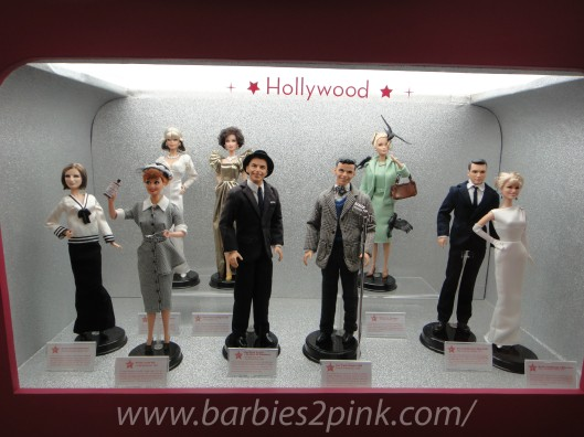 Hollywood: Barbra Streisand, Lucille Ball, Krystle e Alexis (Dynasty), Frank Sinatra, Os Pássaros, Confidências a Meia Noite | Foto: Caori