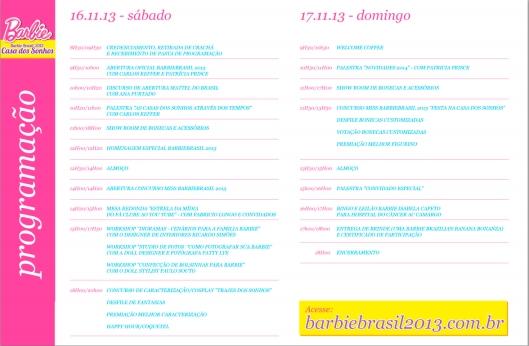 Olhem: tem um convidado especial!! Quem será | Foto: Barbie Brasil 2013 - via website