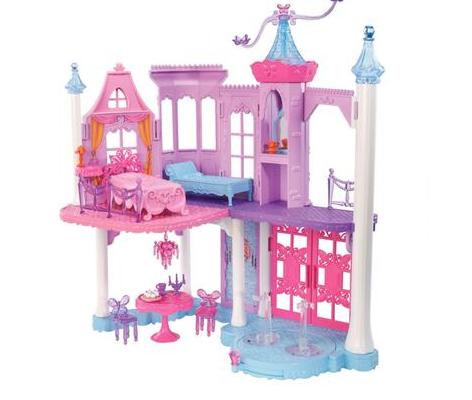 barbie butterfly- princesa fairy castelo