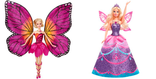 barbie butterfly- princesa fairy dolls
