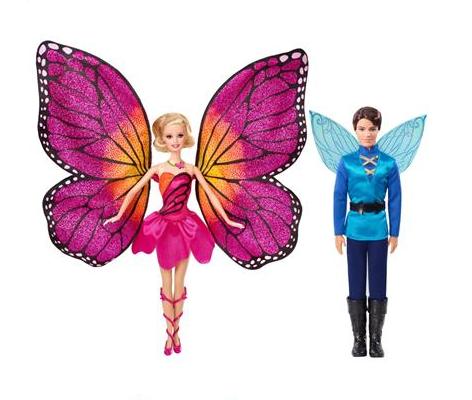 barbie butterfly- principe carlos