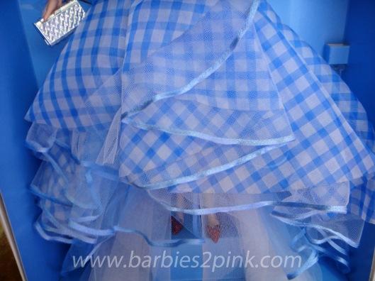 A saia do vestido | Foto: Caori