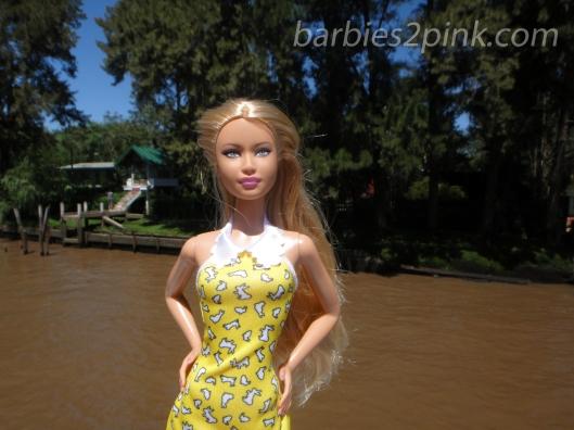 Nina no passeio do Tigre e Delta | Foto: Caori para BS2P
