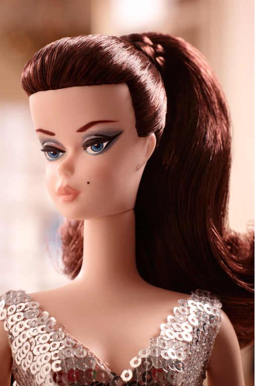 Um close na doll | Foto: Barbie Collector